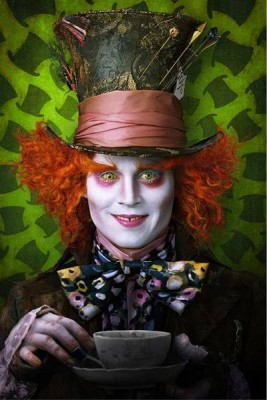 Le chapelier toqué - Johnny Depp