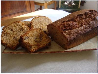 Recette Cake Raisin Chocolat