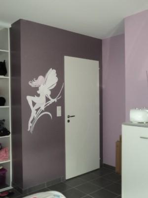 Lili d core la vie for Chambre couleur parme