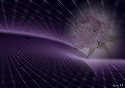 Violet avec rose