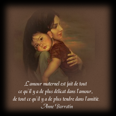 image amour maternel