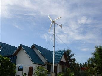 petite éolienne de jardin