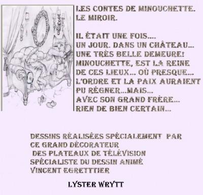 """les contes de Minouchette """"Le Miroir"""