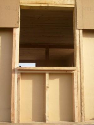 Maison bois aveyron for Fenetre ossature bois