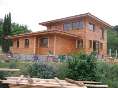 b timent brique construction maison bois aveyron. Black Bedroom Furniture Sets. Home Design Ideas