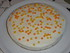 Pumpkin cake half-cooked