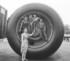 Enfants et pneu