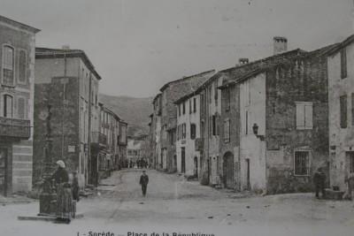 place de Sorède en 1900