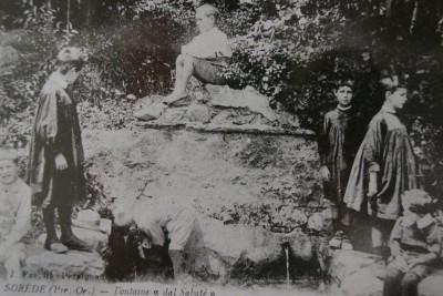 La fontaine du Sabater à Sorède
