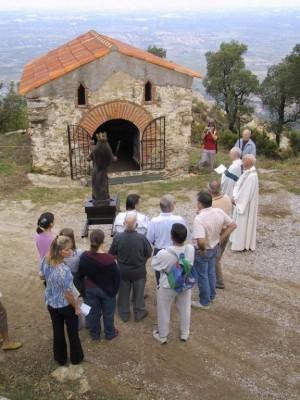 chapelle du Christ un jour de procession