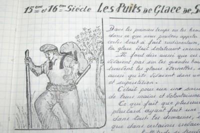 dessin et écrits de J.Margail