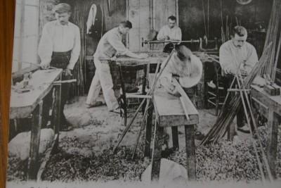 ouvriers de l'usine Massot