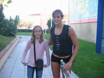 Elsa et Laure Manaudou