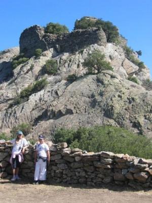 ruines d'Utrere prises du four solaire