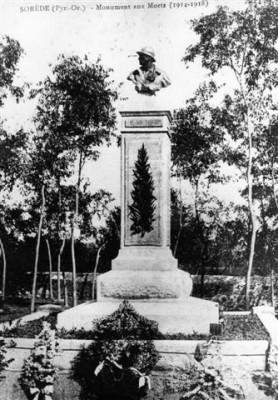 monument aux morts de Sorède
