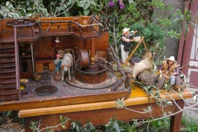 maquette du moulin à huile de Sorède (J Margail)