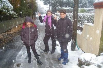 Marine, Elsa et Arnaud
