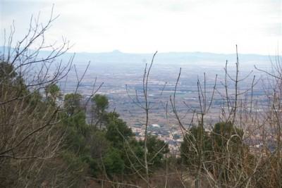 vue de N D du Chateau sur la plaine.