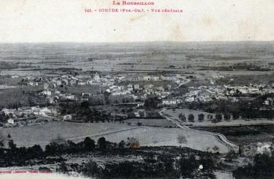 Sorède en 1900 environ
