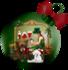 Belle boule de Noël ...  JOY
