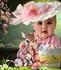 Joyeuses Pâques avec Rose et son Lapin