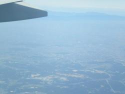 Vue aérienne de Nagoya