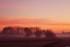 Le lever de soleil de ce matin