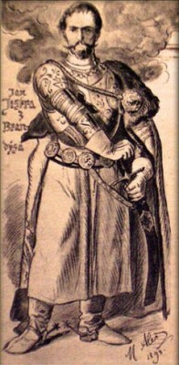 Jan Jiskra z Brandýsa arrete Vlad III (nov 1462)