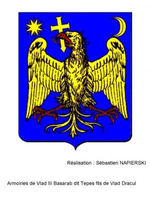 Armoiries Vlad III Tepes