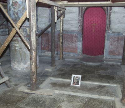 Tombe supposée de Vlad (Dracula)