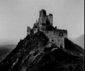 19e siècle château de Csejthe.