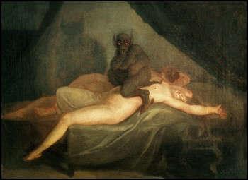 Le cauchemar - Nicolai Abraham Abildgaard