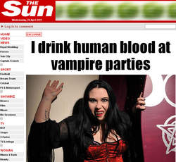 Rencontre avec les Vampires -