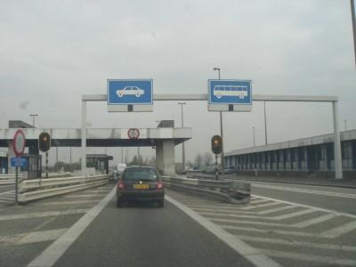 frontière franco-belge au poste de Rekkem
