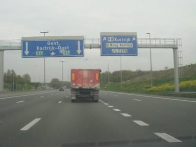 sortie Kortrijk Zuid