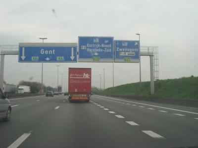 sortie Kortrijk-Oost
