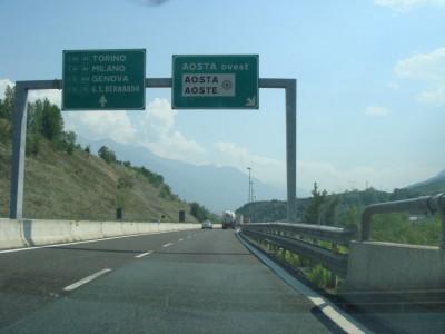 sortie Aosta