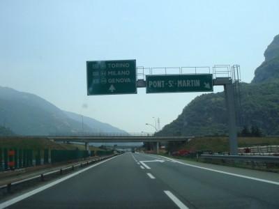 sortie Pont Saint-Martin