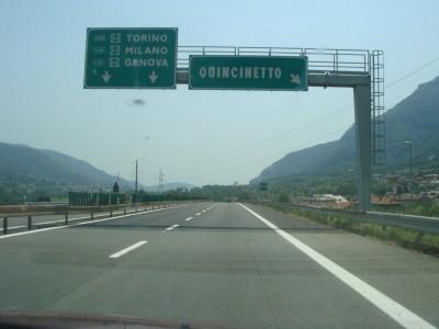 sortie Quincinetto