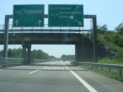 échangeur Torino / Milano - Genova