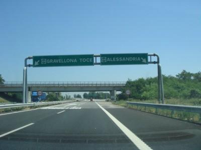 échangeur Gravellona Toce / Alessandria