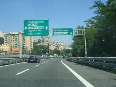 sortie Genova Voltri