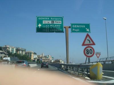 sortie Genova Pegli