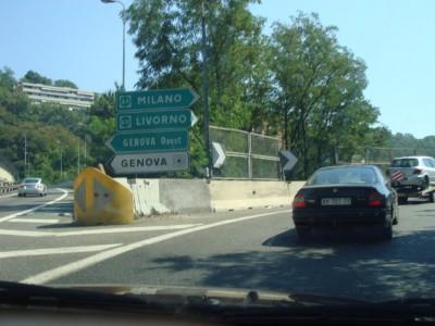 sortie Genova centro