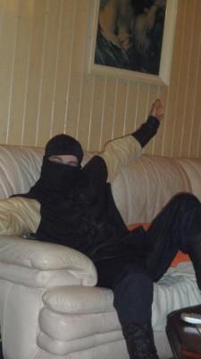 Karoom, le prêtre nain (qui vient déguiser en ninja, allez savoir pourquoi ? xD)