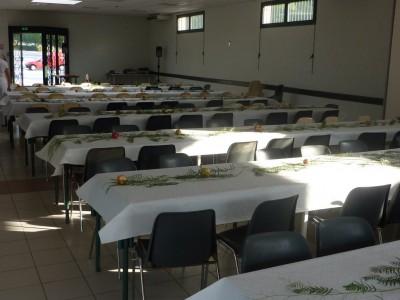Les tables bien décorées