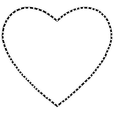 Les cr ations de saturnella - Gros coeur a imprimer ...