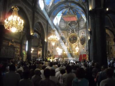 Messe en la collégiale Notre Dame de l'Assomption