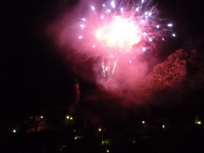 feu d'artifice inaugural, samedi 11 juillet
