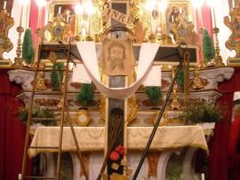 La croix des pénitents noirs.